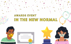 Awards event in the New Normal (Drive-thru, outdoors, mask)