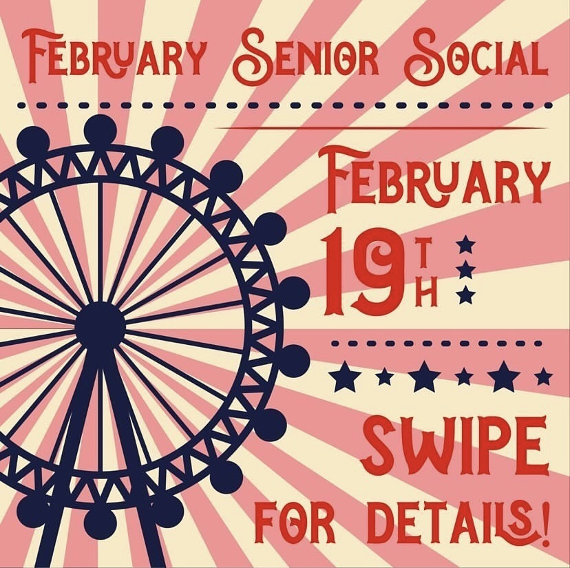 Graphic for the Senior Social, taken from the erhsco2021 Instagram page