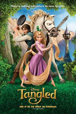 Tangled Promotional poster (2010)
