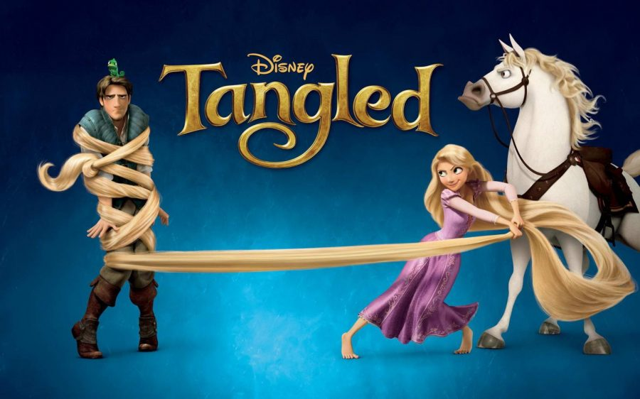Tangled Promotional Poster