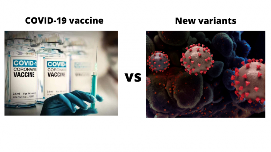 COVID-19 vaccine versus New variants of the virus from UK, South Africa, and Brazil