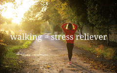 Navigation to Story: How walking can help relieve stress