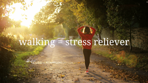 Consider walking as a way to relieve stress