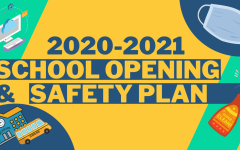 School Reopening Visual Poster.