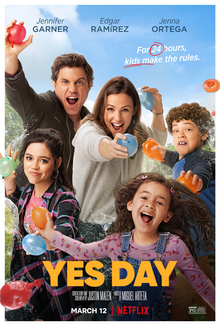 Netflix Original Film Yes Day promotional poster (2021)