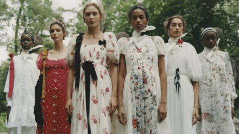 London Fashion Week Spring 2021.