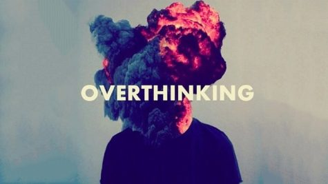 A visual representation of what it feels like to overthink.