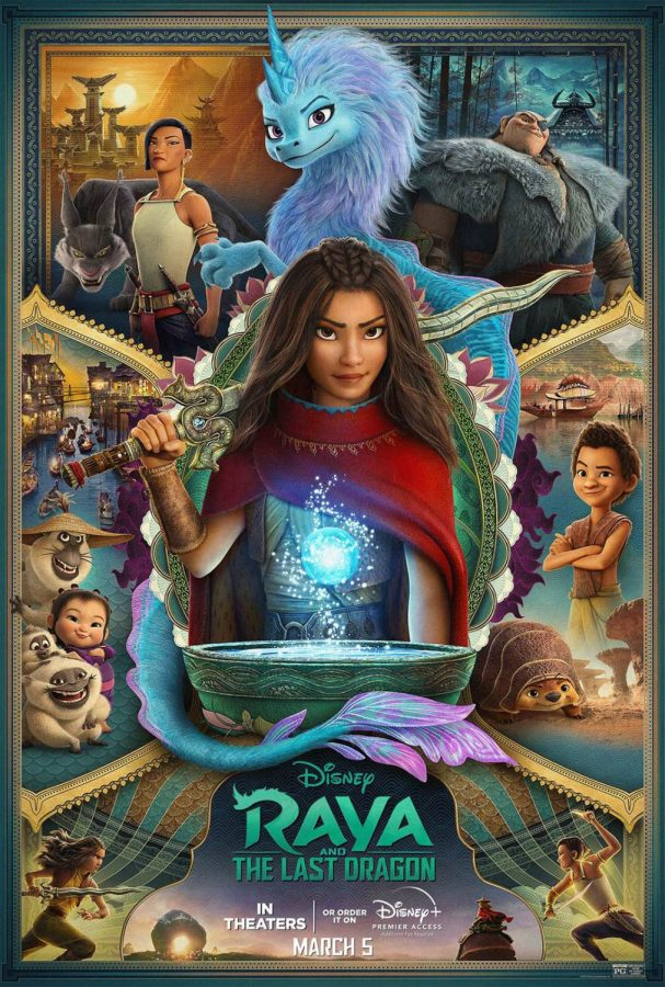 Disney Raya and The Last Dragon promotional poster (2021)