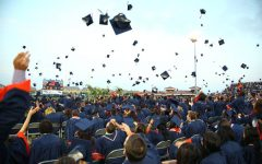 ERHS' in-person graduation in 2014.
