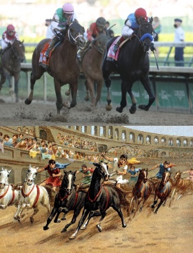 From ancient times to modern times, horse racing was a part of people
